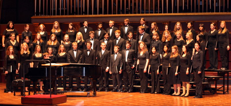 Arts Chorale's Annual Hill Concert, Fall 2009