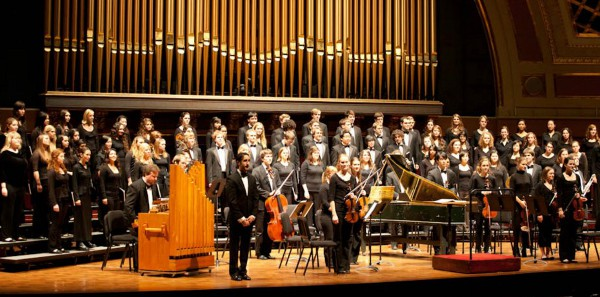 Arts Chorale's Annual Hill Concert, Fall 2011